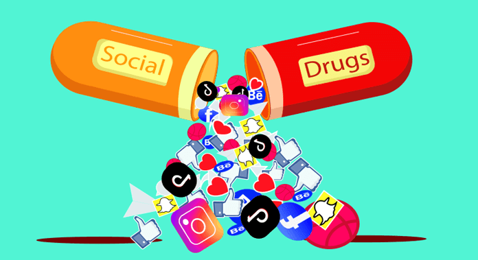 social media addiction drug